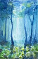 Flooded Forest by Aelroun