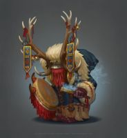 SnowFolk Shaman Boss by any-s-kill