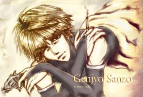 Attempt 2. Genjyo Sanzo by Mithore-Rauko