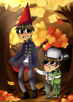 Over the Garden Wall by sariasong64