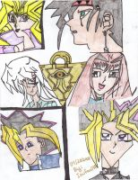 For Harryslove The YuGiOh gang by Inufan078