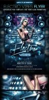 Electro Vibes PSD Flyer Template by yAniv-k