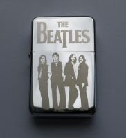 THE BEATLES - engraved lighter by Piciuu