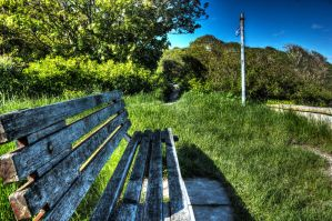 The Bench - HDR by darrenchadwick1311