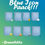 Bue icon pack by BrunoEdits