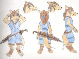 Foxian Referance : Sundancer by Typh39