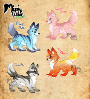 Miniwolf : Offer to adopts CLOSED by StanHoneyThief