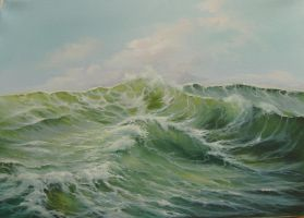 Symphony In Waves by Ludwina
