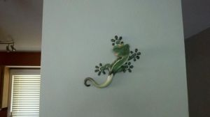 Crested Gecko Sculpture View2 by KayFedewa