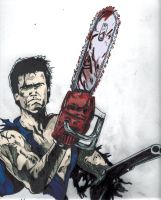 Ash Williams by goodylittletwoshoes