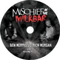 mischief makers cd design. by stephhabes