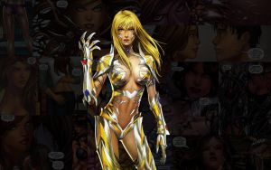 Witchblade.Dani by Troilus