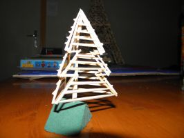 Matchstick Christmas tree by RetardedDogProductns