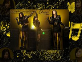 Demi Lovato by x-vintage-design