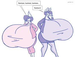 Bonnie and Millie: Business Consultants by SatsumaLord