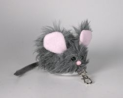 Uber Mini Mouse Plushie Key Chain by Saint-Angel