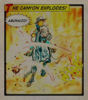 The Canyon Explodes! by Murasaki99