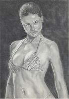Adriana Lima by WitchiArt