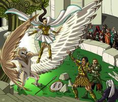 Athena's Miracle by ProdigyDuck