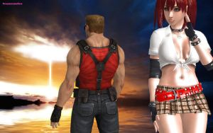 Candy Cane and Duke Nukem Apocalypse 1 artistic 2 by DreamCandice