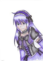 gothic lolitha purple n black by akai-bucket