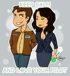 LOVE YOUR PILOT by GlenLorence