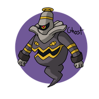 Pokeddex Day 8 - Dusknoir by Kame-Ghost