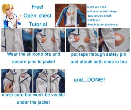 Free! Open Chest Binding Tutorial by ccippicouz