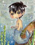 FUTURE FISH: Haruka (Merman) by Mizkatt