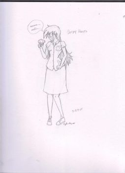 ditzy doo/derpy With Muffin by jackfearless10
