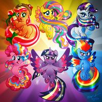 RAINBOW POWER! by AleximusPrime
