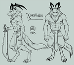 Small Reff-sheet__Xorathalos by BlackBirdInk