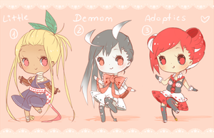Little Demon Adoptables (1 OPEN) 5$ by deichuu