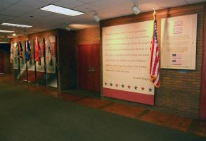 Veterans wall by signcrafter
