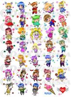 Cute Chibi Stamp - Commissions by DarkVanessaLusT