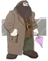 Hagrid by jksketch