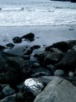 Tjornuvik Beach Rocks by jac0ba
