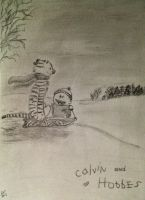 Calvin and Hobbes by sruo