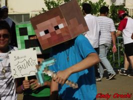 Minecraft Cosplay by Lety-chan