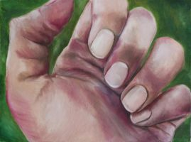 3rd Concentration: Hands by Yumm-Strawberriezz