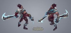 Draven_lowPoly by omonteon