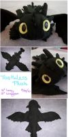 Night Fury Plush by gaernavi