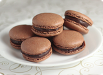 Chocolate Macarons by chompsoflife