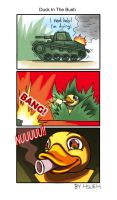 WOT: Duck in the Bush by phsueh
