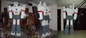 Megatron Sculpture 2010-2011 by villamar