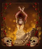 Dancing with the dead by Isyll--8