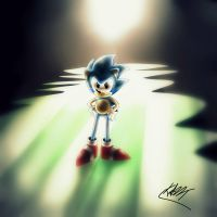Sonic CD style by Kazzt