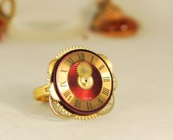 Handcrafted Steampunk Ring by Henri-1