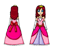 kairi dress scketch by ninpeachlover