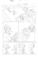 Sonic x #40 pg 5 by Dhutchison